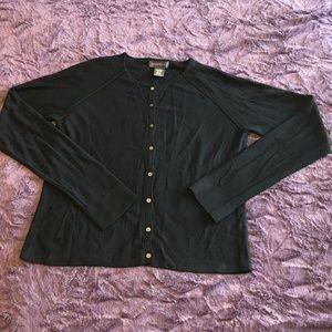 Banana Republic Fabulous Black Lightweight Sweater